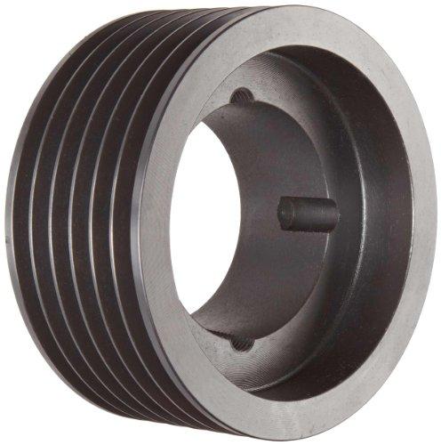 TL SPA106X62012 AmetricMetric 106 mm Outside Diameter 6 Groove SPA13 Dynamically Balanced Cast Iron V-Belt Pulley  SheaveFor 2012 Taper Lock Bushing Mfg Code 1-013