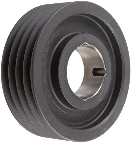 TL SPZ80X41210 AmetricMetric 80 mm Outside Diameter 4 Groove SPZ10 Dynamically Balanced Cast Iron V-Belt Pulley  SheaveFor 1210 Taper Lock Bushing Mfg Code 1-013
