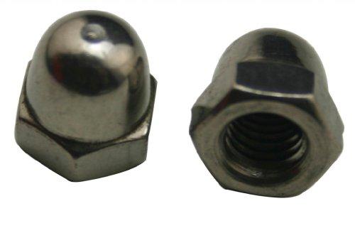 Generic 304 Stainless Steel Standard Type M6 Dome Nuts Blind Nuts Cap NutsPack Of 15
