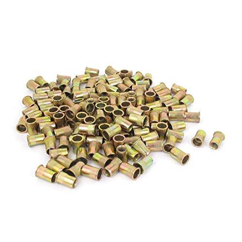 uxcell M6x14mm Rivet Nut Insert Nutsert Blind Nuts Fastener 300 Pcs
