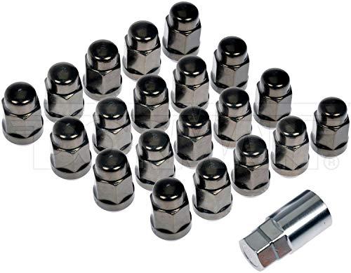 Dorman 711-635H Gunmetal Acorn Nut Lock Set M14-150 for Select Models Pack of 21 21 Pack
