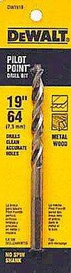 Dewalt Gold Ferrous Oxide Drill Bit Pilot Point 1964  Dia Carded