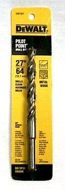 Dewalt Gold Ferrous Oxide Drill Bit Pilot Point 2764  Dia Carded