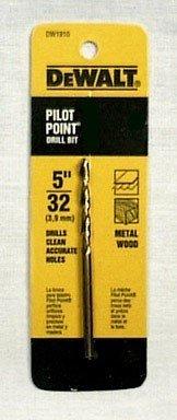 Dewalt Gold Ferrous Oxide Drill Bit Pilot Point 532  Dia Carded