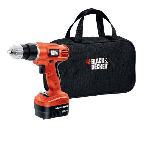 Black Decker GCO9602SB 96-Volt Cordless DrillDriver with Storage Bag