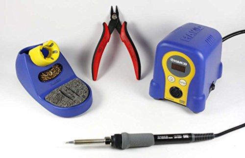 Hakko Digital FX888D CHP170 bundle includes Soldering Station CHP170 cutter