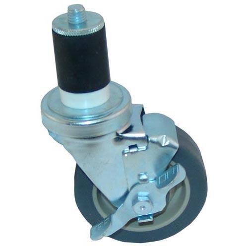 Generic 263364 Caster Stem WBrake Expands To 1-12 Wheel Size - 4 Sealed Bearing