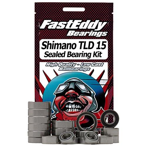 Shimano TLD 15 87-98 Level Drag Fishing Reel Rubber Sealed Bearing Kit