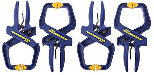 IRWIN Tools QUICK-GRIP Handi-Clamp 2-Inch 4-pack Gift Set