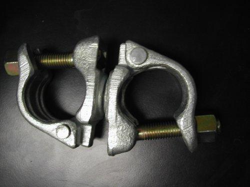 10 UK Swivel Clamps Galvanized Scaffolding Cheeseborough Swivel Clamp CBM1290