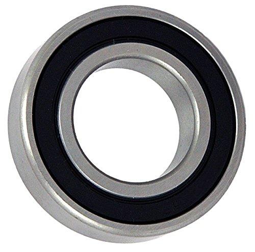 Big Bearing 346204 Radial Ball Bearing 2 Rubber Seals 34 Bore 47 mm Diameter 14 mm Width MetalRubber