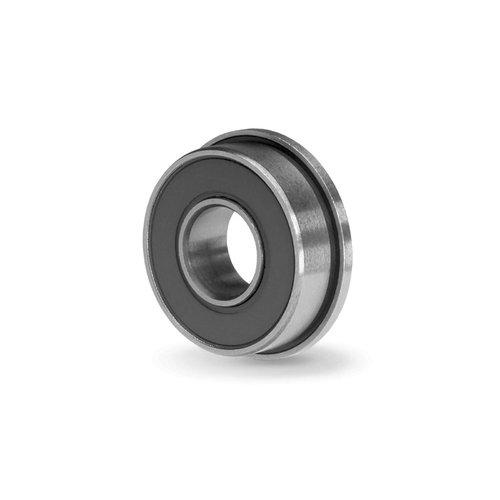 Big Bearing FR4-2RS Flanged Radial Ball Bearing 14 Bore 58 Bearing Diameter 069 Flange Diameter MetalRubber