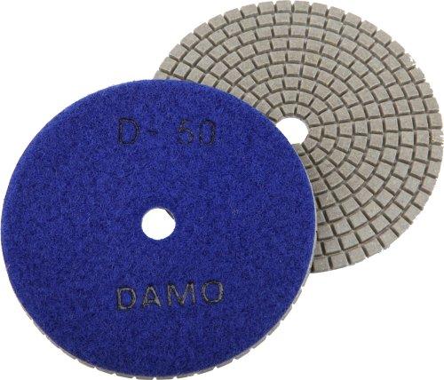 4 DAMO Dry Diamond Polishing Pad Grit 50 for Granite PolishConcrete Polisher Countertop