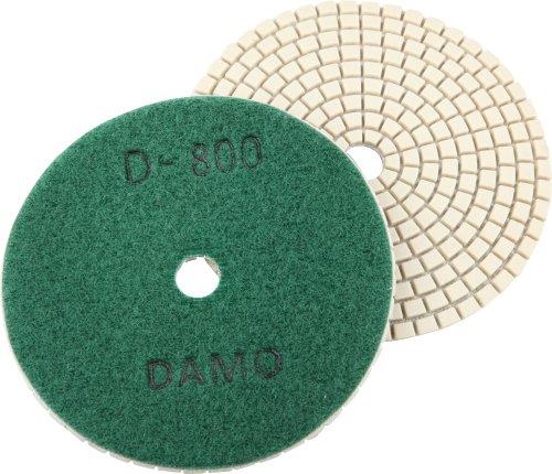 4 DAMO Dry Diamond Polishing Pad Grit 800 for Granite PolishConcrete Polisher Countertop