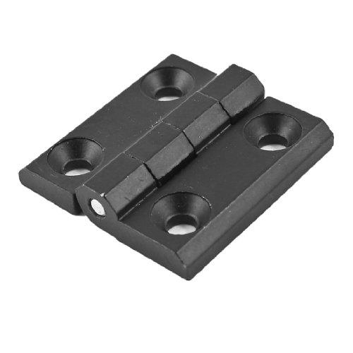 40mm x 40mm Two Leaves Metal Bearing Butt Hinge Black for Door