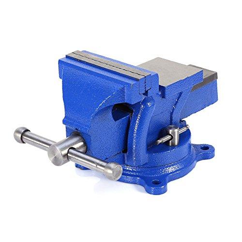 4 Mechanic workshop Bench Vice Vise Table Press Locking Swivel Base Heavy Duty Clamp Engineer Jaw