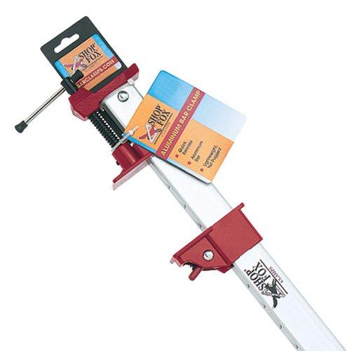 Shop Fox D2467 Aluminum Bar Clamp 48-Inch