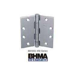 Bommer BB5002-504-630 5x4in Hinge-Full Mortise-Standard Weight-Ball Bearing-Stainless Steel Base-Sat