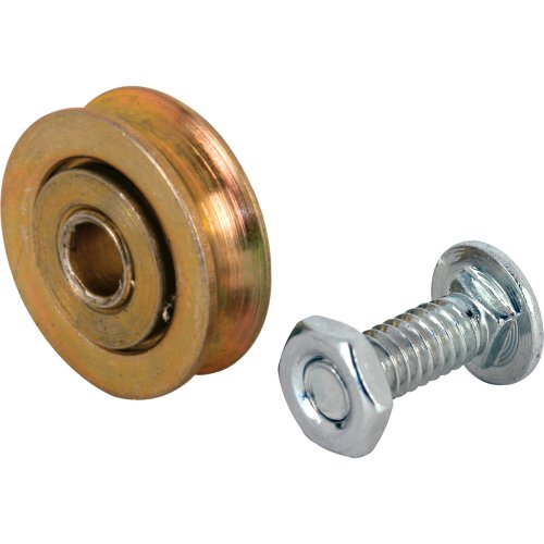 Slide-Co 1328 Sliding Door Roller with 1-Inch Steel Ball Bearing and 14-Inch Hole 2-Pack