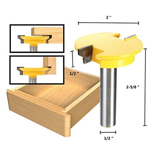 12 Inch Shank Rail Stile Router Bit Shaker Woodworking Chisel Cutter Set