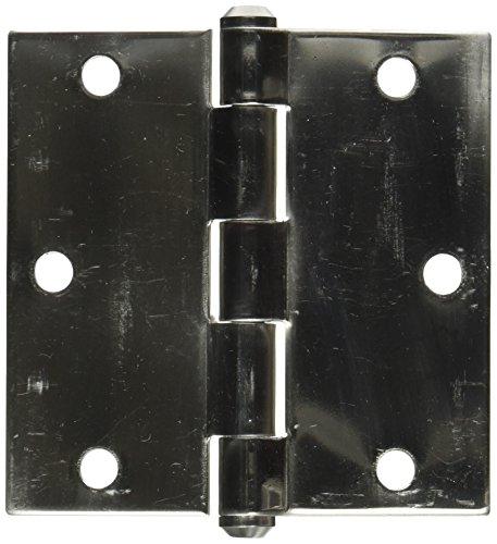 NATIONAL MFGSPECTRUM BRANDS HHI N830-275 Door Hinge 3-12-Inch Stainless Steel