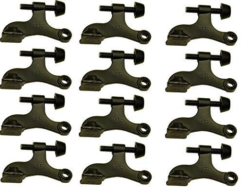 Nuk3y Hinge Pin Oiled Rubbed Bronze Heavy Duty Door Stop 12-Pack