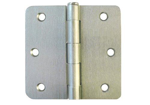 24 Pack Satin Nickel or Brushed Nickel 3-12 Inch 35 X 35 in 14 Radius Corner Interior Door Hinges