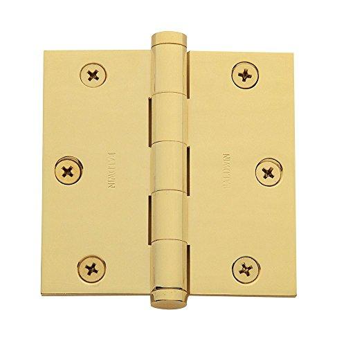 Baldwin 1035003I Square Mortise Hinge Lifetime Brass