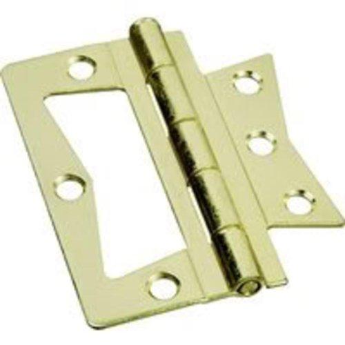 Brainerd 3 Brass Non-Mortise Door Hinge 31653 Brainerd 31653 022788316531