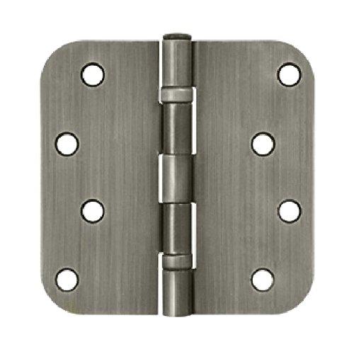 Deltana S44R5BB15A Ball Bearings Steel 4-Inch x 4-Inch x 58-Inch Radius Hinge