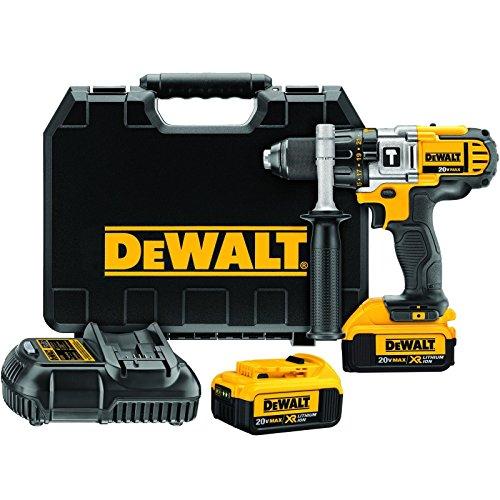 Dewalt Dcd985m2 Max 20v Cordless Li-ion Premium 3-speed Hammer Drill Kit