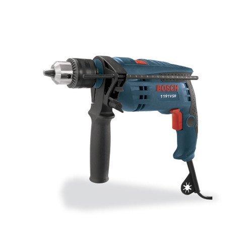 Factory-Reconditioned Bosch 1191VSRK-RT 120V 12-Inch Single Speed Hammer Drill