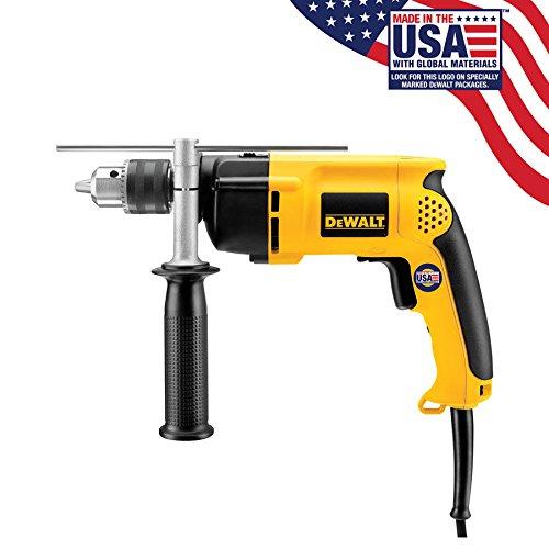 Factory-Reconditioned DEWALT DW511R Heavy-Duty 67 Amp 12-Inch VSR Single Speed Hammer Drill