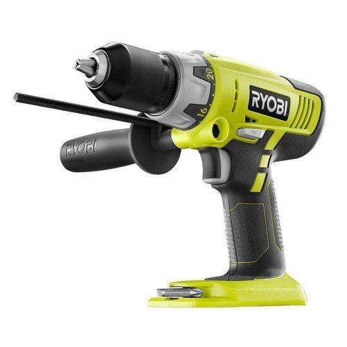 Ryobi ZRP213 ONE Plus 18V Cordless 2-Speed Hammer Drill Green Bare Tool Certified Refurbished