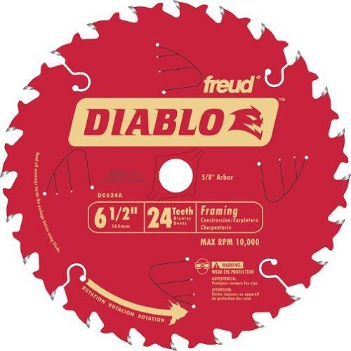 Freud D0624A Diablo 6-12-inch 24T ATB Perma-Shield Framing Saw Blades 10-Pack
