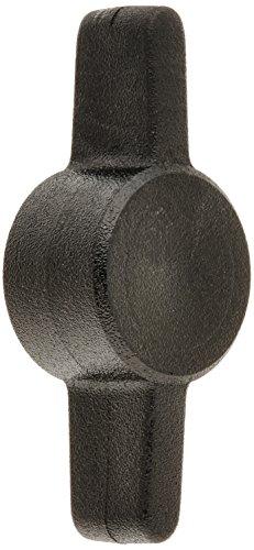 Hard-to-Find Fastener 014973211189 Black Tee Thumb Screw Knobs 5-Piece