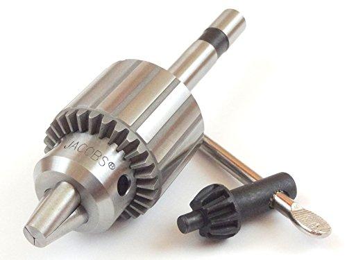 Jacobs 32BA Heavy Duty Drill Chuck 0 - 38 Capacity with 12 Diameter Straight Shank K32 Key Turret Lathe Tool