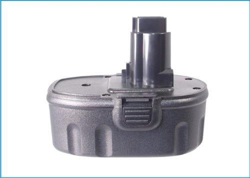 Battery2go - 1 year warranty - 180V Battery For Dewalt DC820B DC823B DCD959VX DW999KQ DW960 DW919 Flash Light DW059