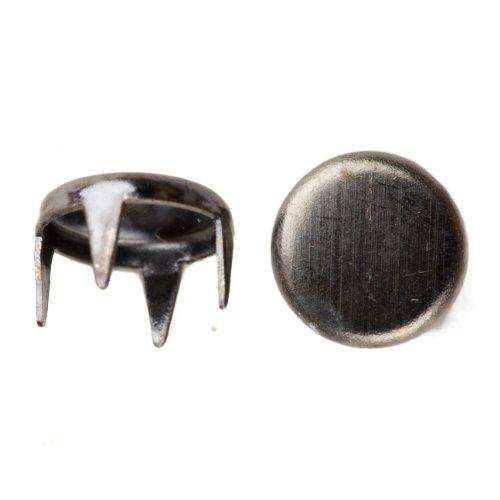 1001 Spot Nailhead Size 30 Solid Brass Black Nickel Finish 400 pieces per pack