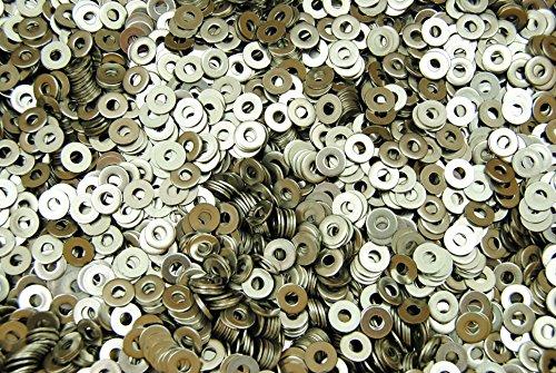 1000 Stainless Steel 6 Machine Screw 6-32 Flat Washer 18-8 SS
