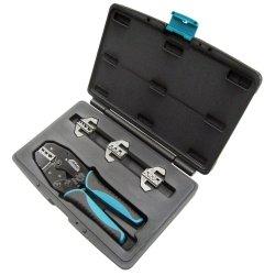 Quick Change Ratcheting Crimper Kit Tools Equipment Hand Tools