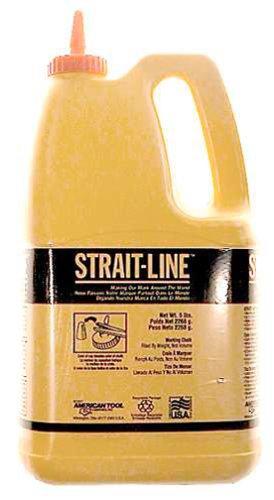 IRWIN Tools STRAIT-LINE 65104 Standard Marking Chalk 5-pound White 65104