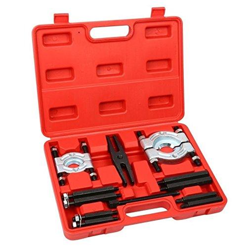 NEW 12PCS Bearing Splitter Gear Puller Fly Wheel Separator Set Tool Kit