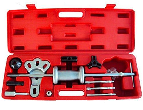 Jikkolumlukka 16pc Slide Hammer Dent Puller 2 3 Jaw External Internal Oil Seal Bearing Remover