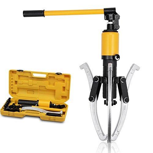 Hydraulic Separator Hub Puller Gear Bearing Garage Tool Set Kit 15 Ton 3 Jaws by Voilamart