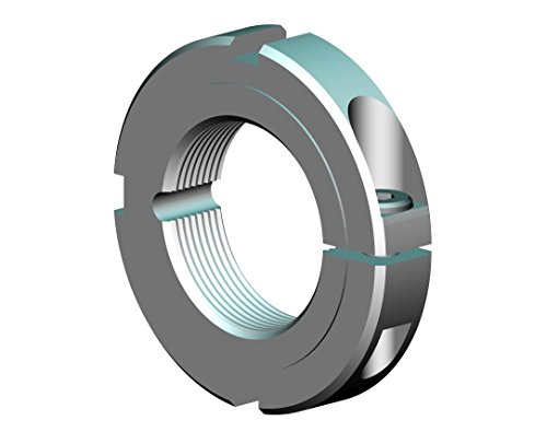 Whittet-Higgins CNB-28 Threaded Clampnut  Shaft Bearing Locknut Collar UNS 5497-12 Right-Hand Thread Self-Locking