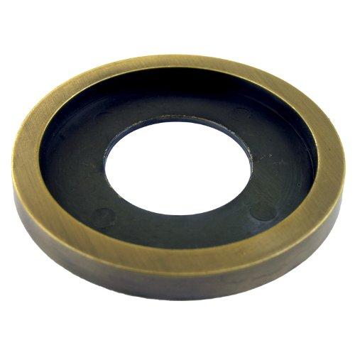 LASCO 70008SB Beauty Trim Ring for Fireplace Log Lighter Valve Flange Satin Brass