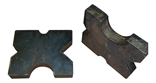 SWAG Arbor Press Plates Pair 7 X 7