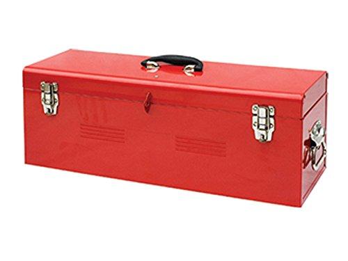 Faithfull TBHDC26 Metal Heavy Duty Tool Box and Tote Tray 26-inch