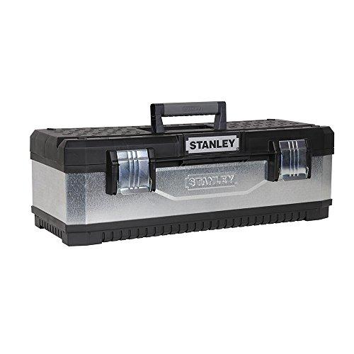 Stanley - Galvanised Metal Toolbox 20In